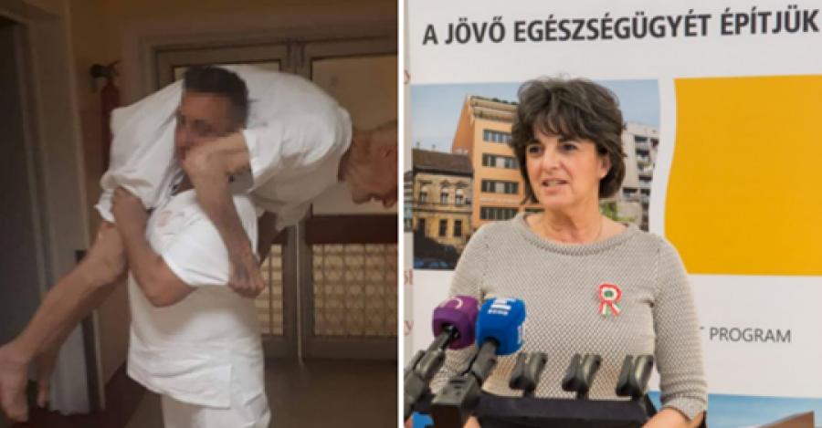 Milliárdokba kerülnek az új stadionok, miközben ebben a magyarországi kórházban már a tolószék is luxusnak számít - Ráadásul az egészségügyi államtitkár szerint ' a magyar egészségügy nemzetközileg is elfogadott, a felszereltségünk pedig európai színvonal