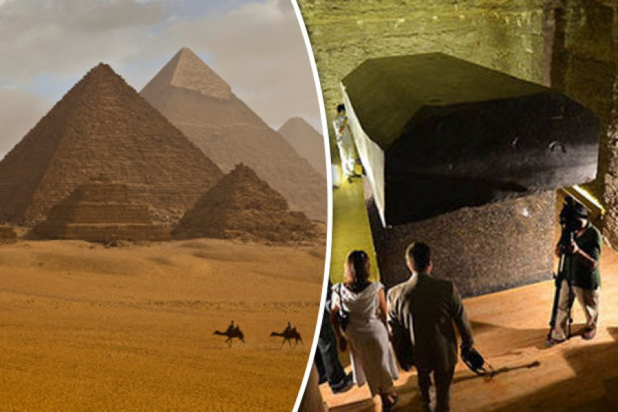 Kiderült! Így építették a piramisokat valójában!