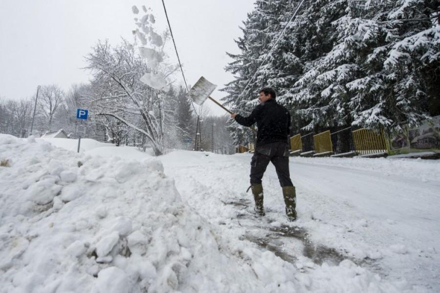 Mutatjuk, hol esik először a hó! Ezeken az országrészeken várható havazás
