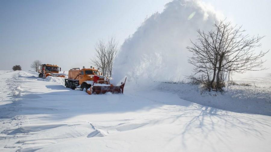 Mutatjuk, megyékre adtak ki figyelmeztetést a várható nagy havazás miatt