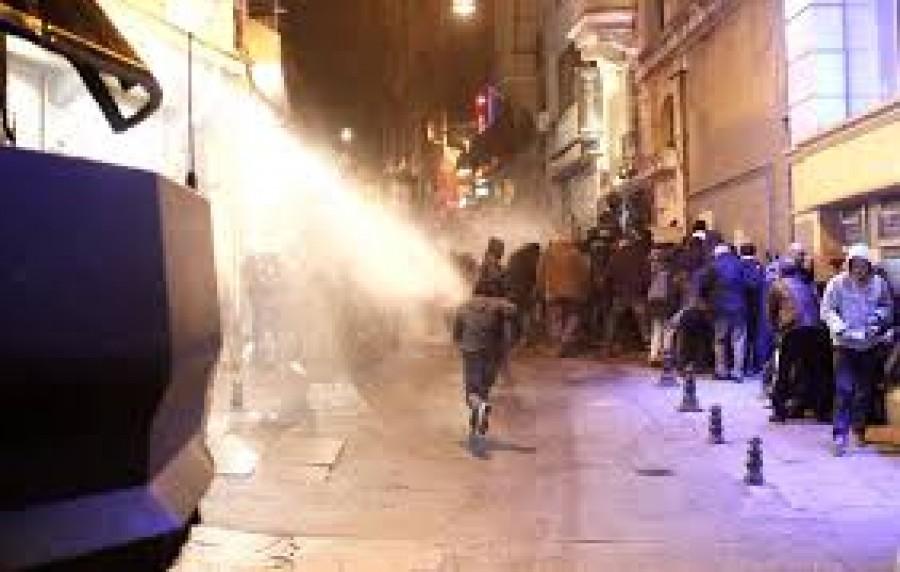 Gumilövedék, vízágyú: Újra elszabadultak az indulatok a fővárosban
