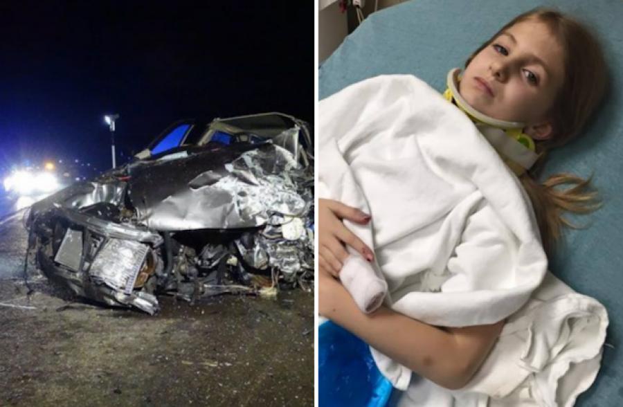 Borzalmas tragédia, ami tegnap történt a 44-es főúton! A 8 éves Vivienen kívül a család minden tagja elhunyt!