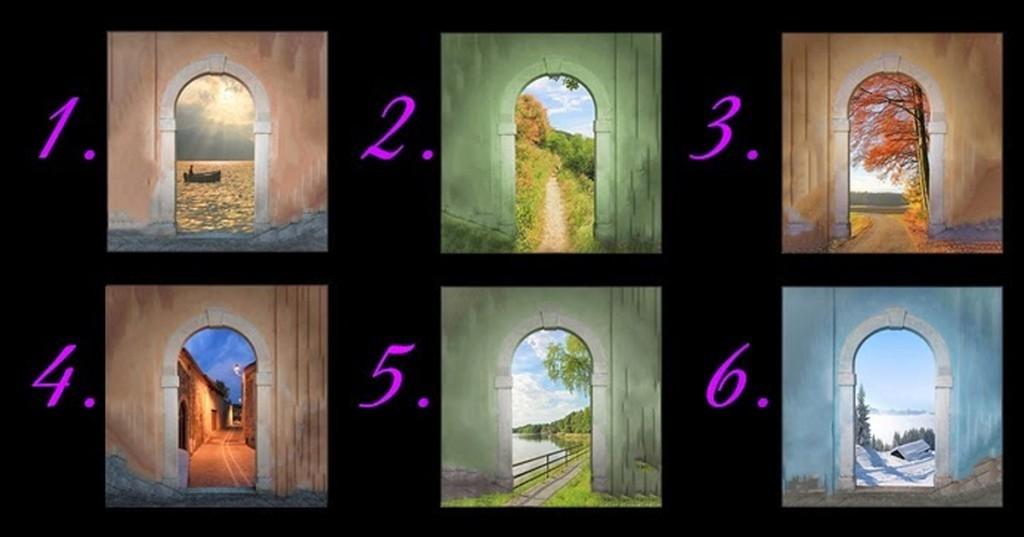 Válassz egy ajtót, azt amelyik a legközelebb áll hozzád. Majd olvasd el mit mond a jövődről!
