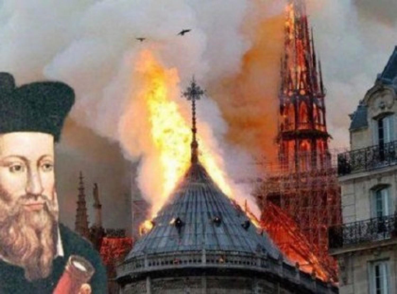 Nostradamus már több száz éve megjósolta a Notre Dame-i tűzet