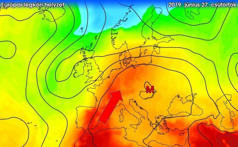 Az eső után még rosszabb lesz a helyzet, jövőhétre Afrikai hőség érkezik 40 fokkal. Visszasírjuk az esőt