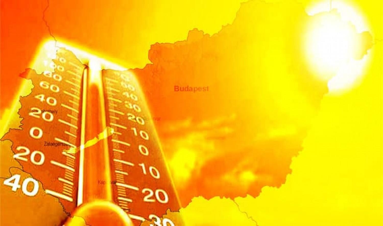Friss előrejelzés: Hőség miatt adtak ki figyelmeztetést ezekre a megyékre