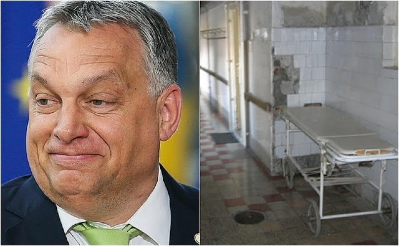 Orbán Viktor vérlázító kijelentése: Szerinte -A kórházak állapota teljesen rendben van, más fontosabb dolgaink is vannak most.- és még azt is mondta hogy a magántulajdon...