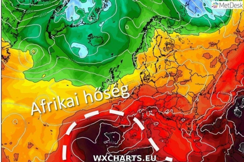 Furcsa hírt érkezett a közelgő időjárásról! Olyan várható, ami még nem volt Magyarországon! Erre készüljetek :