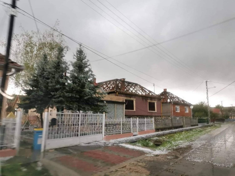 Letarolt mindent a brutális vihar Borsodban-Fotók