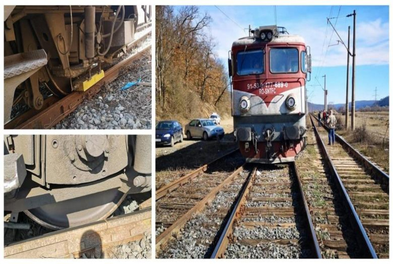 Nem rég érkezett: Kisiklott a Bukarest-Budapest szerelvény mozdonya