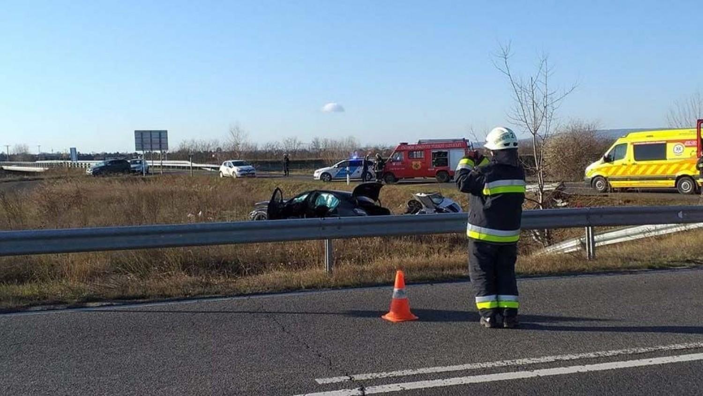 Rendkívüli hír: Négy autó ütközött az M7-es autópályán