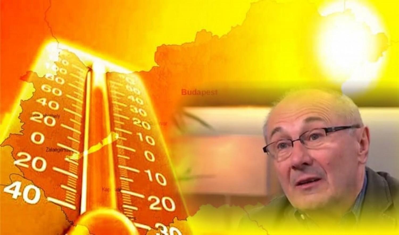 Itt a vége a télnek? Következő héten rekordmeleg lehet Németh Lajos meteorológus előrejelzése: