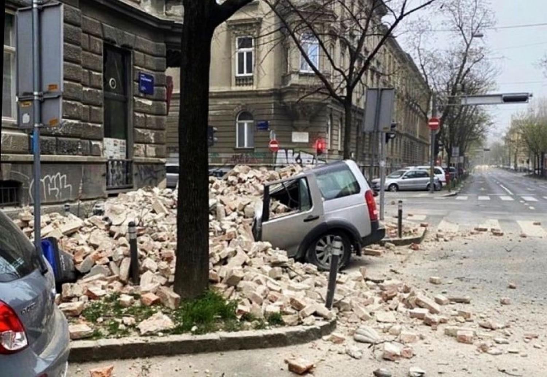 Aggasztó hír: Komoly, 5.3-as erősségű földrengés rengette meg vasárnap kora reggel Horvátország fővárosának térségét -
