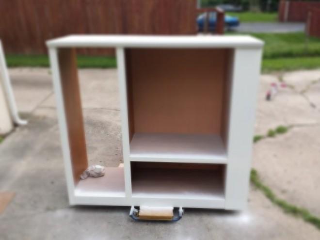 Az apa szétszeretele a TV szekrényt, majd valami csoládlatosat készített! - Zseniális ötlet!