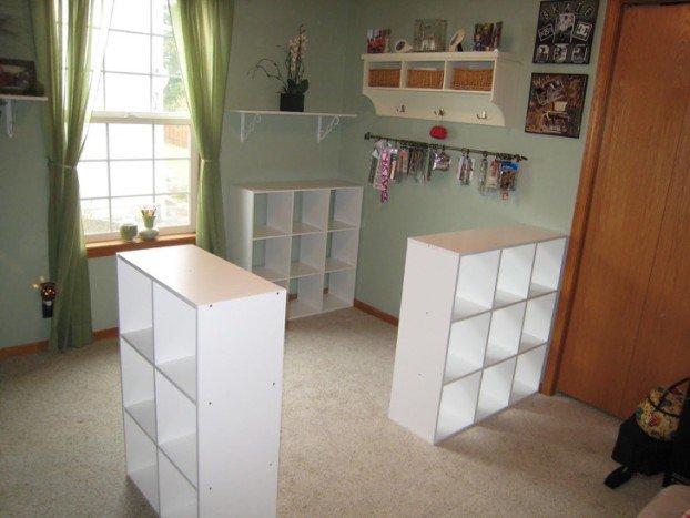 Összecsavarozott 3 IKEA polcot… az egész szoba átalakult…