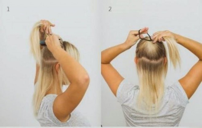 12 egyszerű frizura ötlet ,amit 5 perc alatt elkészíthetsz