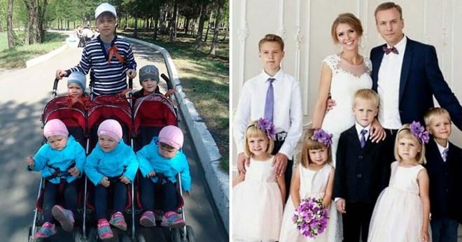 Felesége halála után egyedül nevelte a hat gyermeket… de nézze, mivel jutalmazta meg a sors!