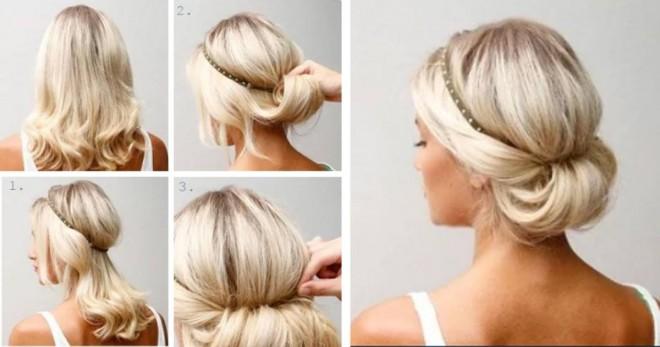 14 elegáns frizura ötlet azoknak a hölgyeknek, akik mindig sietnek!