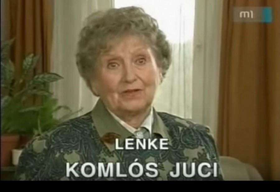 6 éve hunyt el Komlós Juci! Ezzel a videóval emlékezünk a csodálatos színésznőre, mindenki Lenke nénijére, Komlós Jucira. Nyugodjon békében!