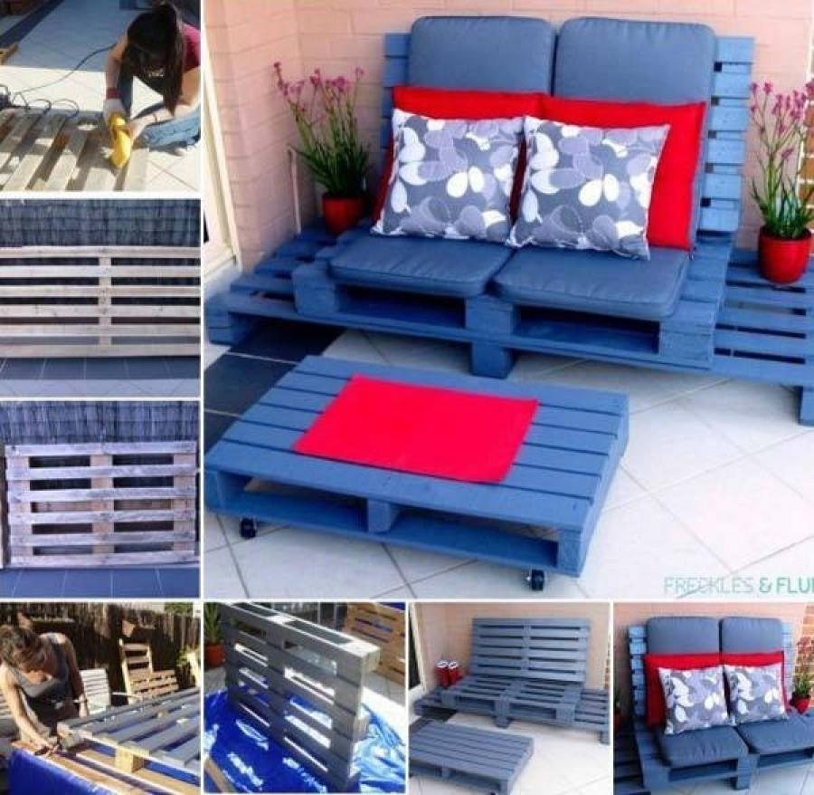 A raklapból készült bútorok nagyon nagy népszerűségnek örvendenek mostanában. Hoztunk 30 szuper ötletet.