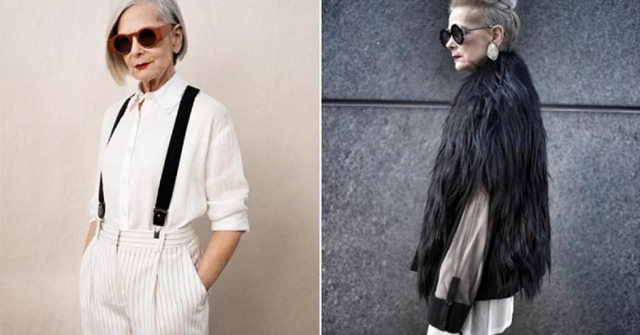 A 63 éves divatdiktátor nagymama, aki nyugdíjas kora ellenére nagyon naprakész ha divatról van szó!