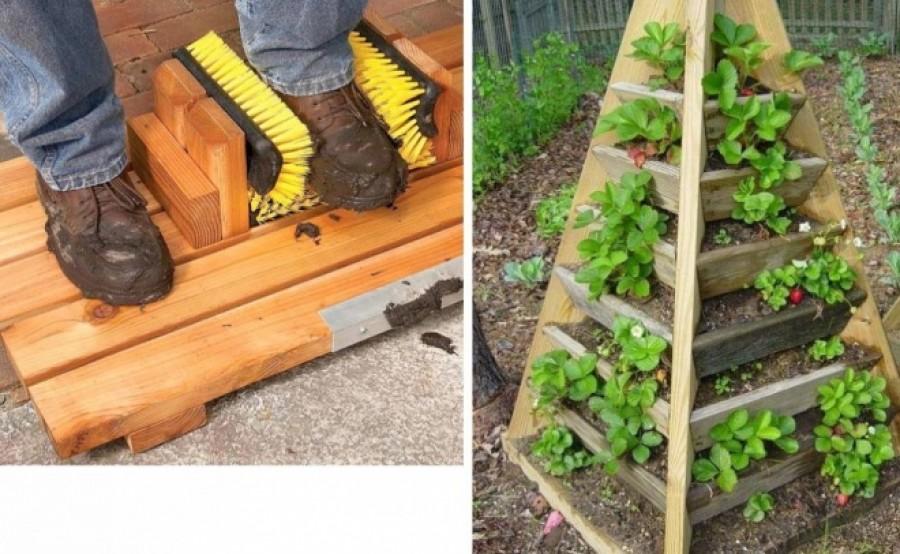 Mindig tanul az ember: 12 praktikus ötlet (lakás + kerti élet)
