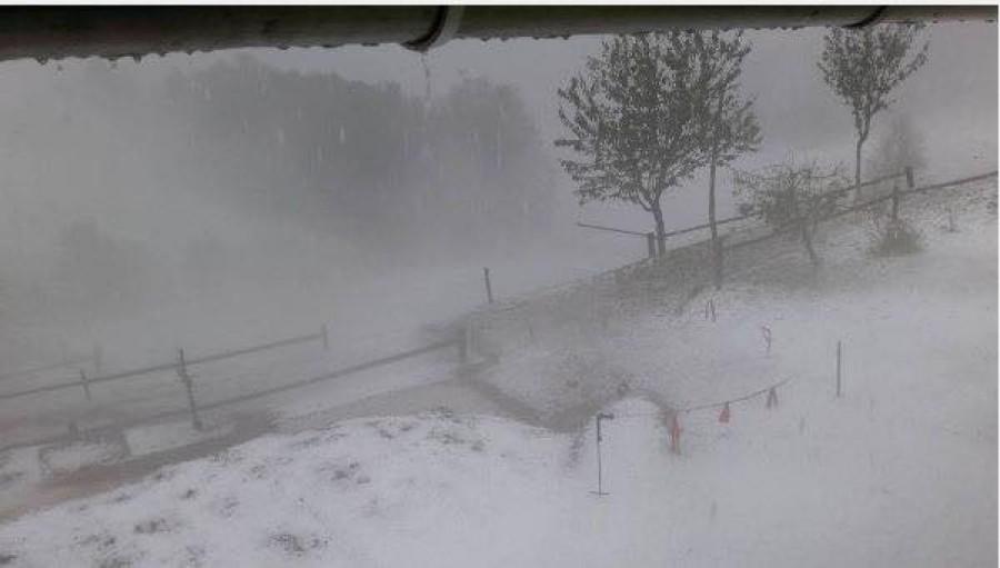 Hazánk felé tart az ami téllé változtatta Szlovéniát pár óra alatt!