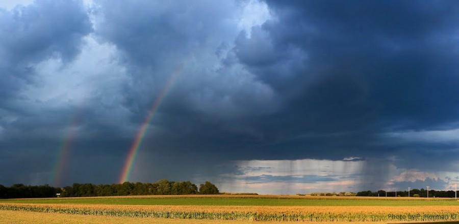 Kettészakad ma az ország: elviselhetetlen hőség és viharok érkeznek!
