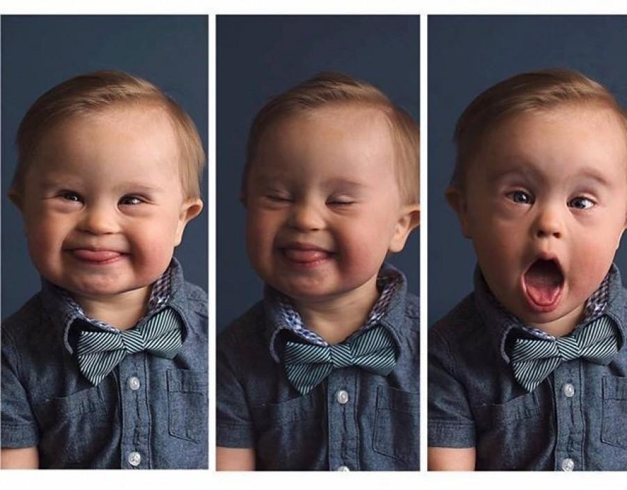 Igazi modell lehet a Down-szindrómás kisfiúból. Dobj egy lájkot, ha neked is tetszik!