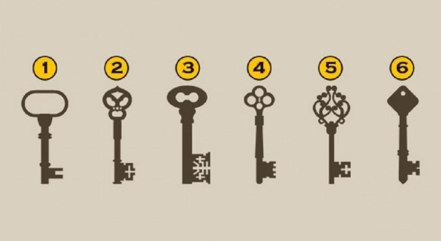 Most kiderítheted milyen ember vagy! Válassz egyet a képen látható kulcsok közül, és tudd meg!