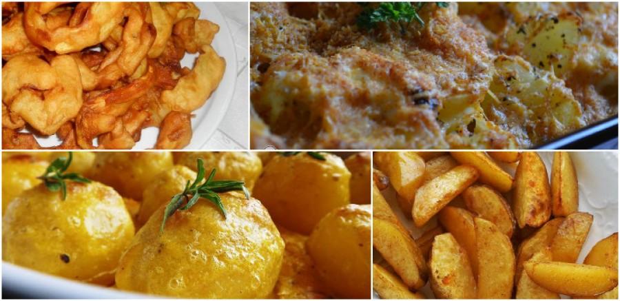 7 fantasztikus és egyszerű köret krumpliból! Gyors, könnyű, isteni finom!