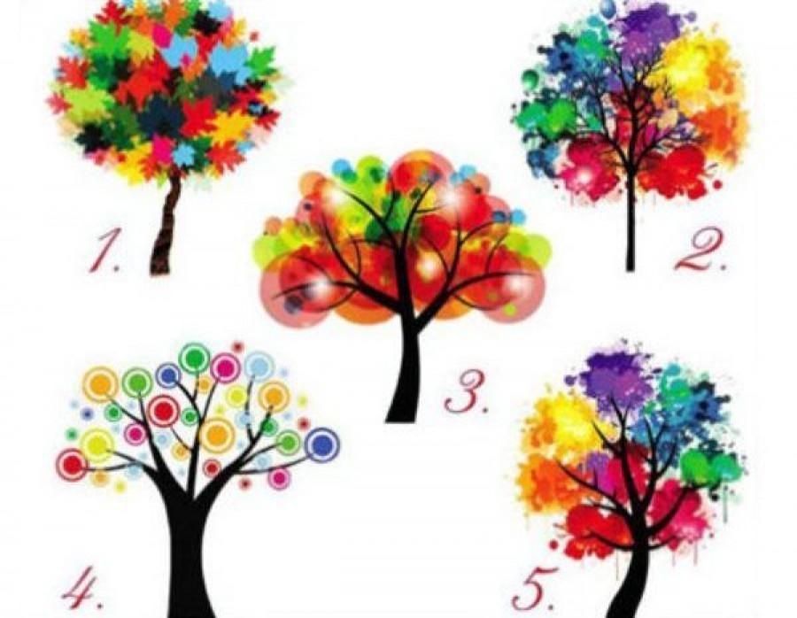 Válassz egy fát a képen láthatóak közül? Döbbenetes igazságot tudhatsz meg magadról