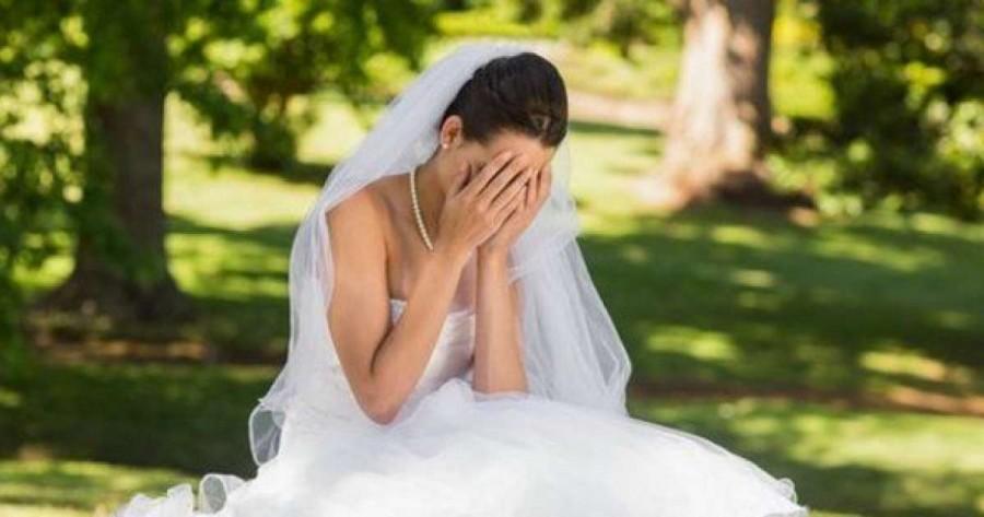 A szertartásra készültek, mikor a menyasszony zokogni kezdett... Elképesztő dolog történt!