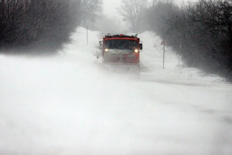 Ezeken a területeken lesz a legdurvább hófúvás! Senki se induljon útnak!