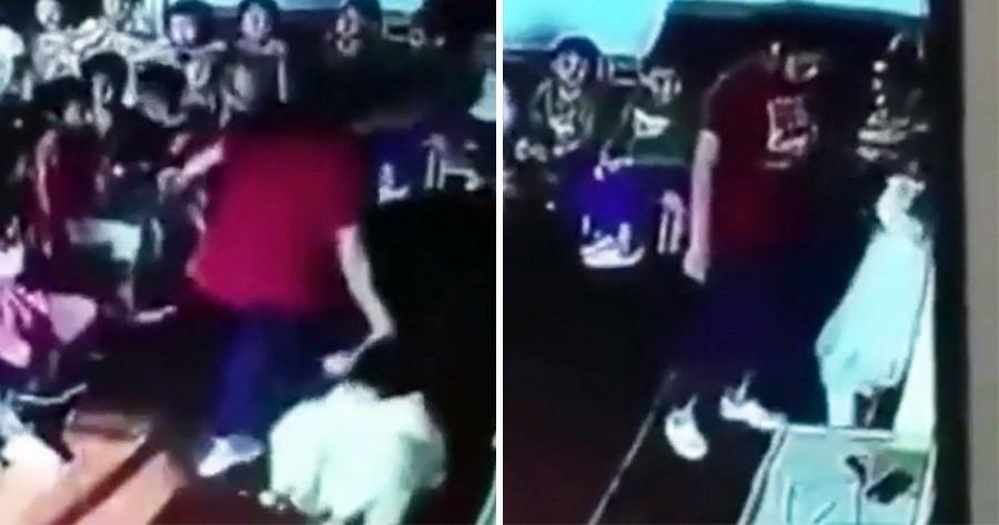 Megrázó videó látott napvilágot: a falba verte egy ötéves kislány fejét az óvónő