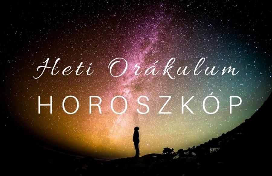 Orákulum horoszkóp 2018. június 25. és július 1. között!