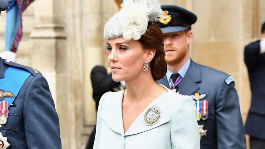Nem számítottak rá hogy megjelenik Katalin hercegné. Mindenki ledöbbent, amikor meglátták, hogy ott van...