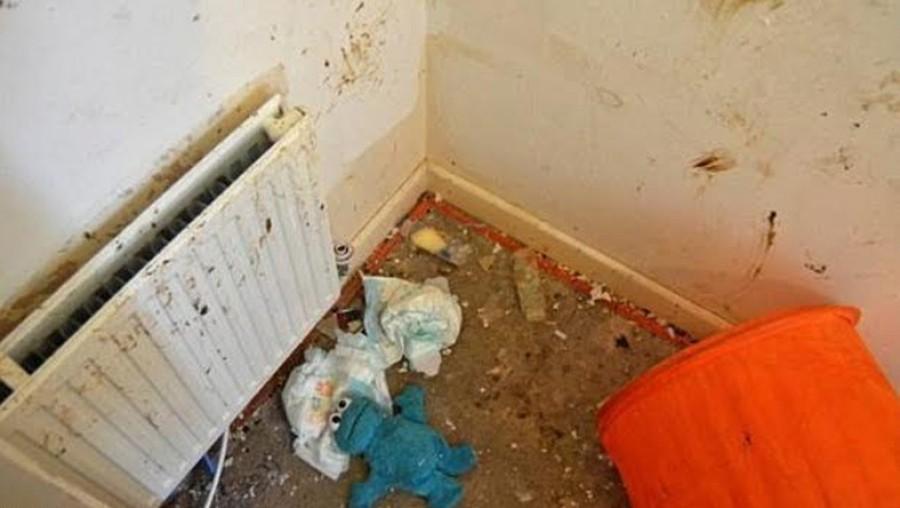 Rosszul lettek a rendőrök mikor bementek ebbe a lakásba