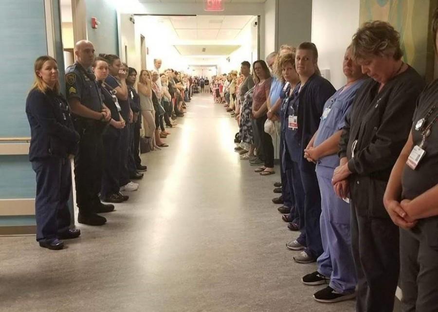 A kórházi dolgozók tisztelegnek az apa előtt aki szervei adományozásával 50 életet mentett meg