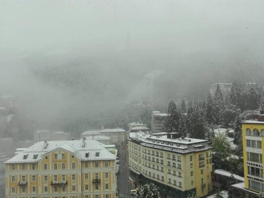 Ausztriában havazik ! - Mi is kaptunk figyelmeztetést a mai napra!