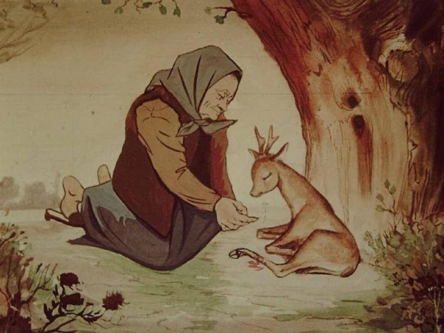 Igazi lélekmelengető az öreg néne őzikéje! Oszd meg, hogy a mai gyerekekhez is eljuthasson!