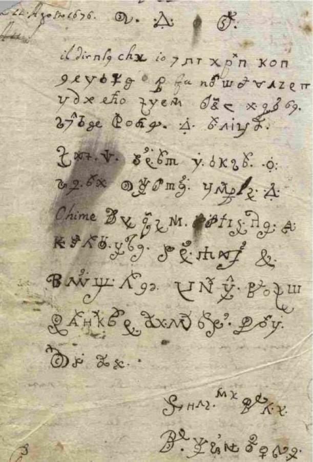 300 év után fejtették meg az apáca levelét, akit megszállt az ördög